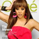 Tia Mowry-Hardrict - Cliché Magazine Cover [United States] (February 2013)