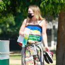 Hilary Duff with ex Mike Comrie at a local LA park
