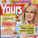 Joanna Lumley - Yours Magazine Cover [United Kingdom] (11 September 2018)