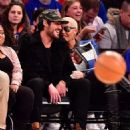 Amber Rose and Val Chmerkovksiy at The Knicks Game at Madison Square Garden in New York City - January 16, 2017  - December 9, 2016 - 454 x 521