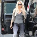Khloe Kardashian – Arrives at Gunners Gym in Beverly Hills