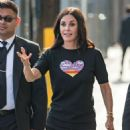 Courteney Cox – Arriving at Jimmy Kimmel Live! in LA - 454 x 632