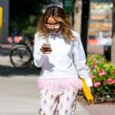 Kat Graham out for lunch in Beverly Hills - 454 x 764