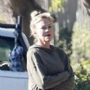 Melanie Griffith – Seen outside her home in Los Angeles - 454 x 681