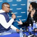 Jamie Foxx attend SiriusXM at Super Bowl XLIX Radio Row at the Phoenix Convention Center on January 30, 2015 in Phoenix, Arizona - 454 x 329