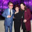 Sir Elton John, tv personality Sharon Osbourne and musician Ozzy Osbourne attend the 23rd Annual Elton John AIDS Foundation Academy Awards Viewing Party on February 22, 2015 in Los Angeles, California.