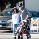 Channing Tatum Out with His Family