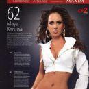 Maya Karuna - Maxim - 434 x 600