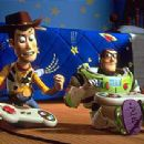 Woody and Buzz Lightyear in Disney's Toy Story 2 - 11/99