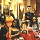 Kym Whitley (left), Robinne Lee (left), Royale Watkins (right) and Meagan Good (far right) in Focus' Deliver Us From Eva - 2003