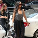 Rihanna Arriving At A Office In Nyc