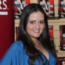 Danica McKellar Promotes 'Hot X: Algebra Exposed' At Borders Books & Music, Columbus Circle On August 4, 2010 In New York City - 454 x 517