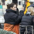 Charlotte Riley – Filming 'Press' set in London - 454 x 555