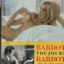 Brigitte Bardot - Le nouveau Cinémonde Magazine Pictorial [France] (May 1969) - 454 x 626
