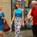 Ashley Greene At Nbc Studios In New York City