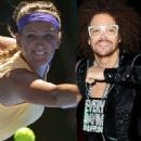 Stefan Gordy and Victoria Azarenka