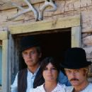 Paul Newman, Katharine Ross and Robert Redford in Butch Cassidy and the Sundance Kid (1969)