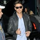 "Zac Efron arrives for an interview on NBC's ""The Today Show"". 12/07/2011"