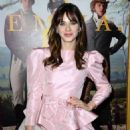 Zooey Deschanel – In Pink Short dress at 'Emma' premiere in Los Angeles - 454 x 633