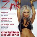 Christina Aguilera - Zink Magazine Cover [United States] (March 2003)