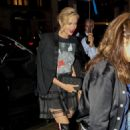 Charlize Theron at the Whitby Hotel in New York City