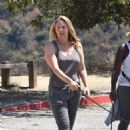 Alicia Silverstone – Out on a hike with her dogs in Los Angeles - 454 x 663
