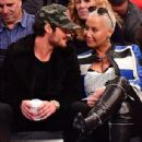 Amber Rose and Val Chmerkovksiy at The Knicks Game at Madison Square Garden in New York City - January 16, 2017  - December 9, 2016 - 306 x 321