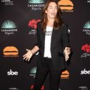 Cindy Crawford at Umami Burger x Cindy Crawford Artist Series Launch in Beverly Hills