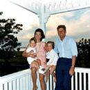 Jacqueline Kennedy and John F. Kennedy with their children John Jr and Caroline