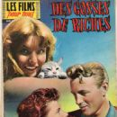 Fanciulle di lusso - Les films pour vous Magazine Cover [France] (31 March 1958)
