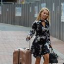 Katie Piper Arrives at her Hotel in Manchester - 454 x 692