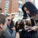 Katy Perry Leaves a French Radio Station