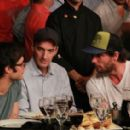 Gael Garcia Bernal and Gonzalo Valenzuela in Boxing for Inclusion - April 2012