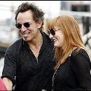 Bruce Springsteen and Patti Scialfa - 202 x 190