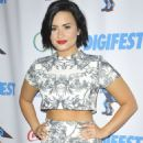 Demi Lovato Digifest Nyc 2015 In Nyc