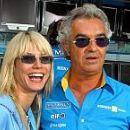 Flavio Briatore and Heidi Klum
