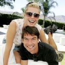 Jerry O'Connell and Rebecca Romijn