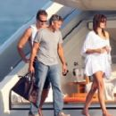 Cindy Crawford and Rande Gerber with George Clooney