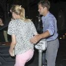 Diane Kruger and Joshua Jackson leaving Katsuya after a sushi dinner date in Hollywood, California (July 26)