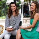 """""""NCIS"""" actress Cote de Pablo Gives An """"Extra"""" Interview gives an interview with Maria Menounos for """"Extra"""" at The Grove on April 23, 2013 in Los Angeles, California"""