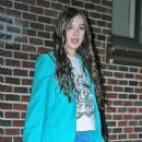 """Hailee Steinfeld – Leaves 'The Late Show With Stephen Colbert"""" in New York - 454 x 681"""