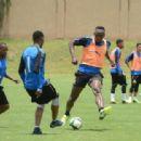 Usain Bolt Visit to Mamelodi Sundowns Training Session