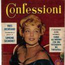 Confessioni Magazine Cover [Italy] (13 March 1962)