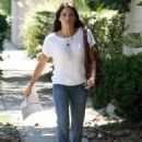 Jenna Dewan going to an audition in Los Angeles, CA, July 28, 2010