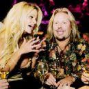 Vince Neil and Lia Gerardini