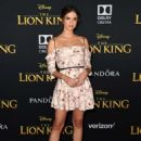 Maia Mitchell – 'The Lion King' Premiere in Hollywood - 454 x 653