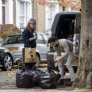 Kit Harrington and Rose Leslie – Seen loading luggage into their car in London