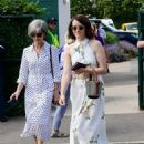 Claire Foy – Wimbledon Tennis Championships 2019 in London - 454 x 616