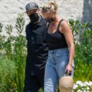 Cameron Diaz and Benji Madden – Out and about