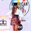Tyra Banks – 2018 American Music Awards in Los Angeles - 454 x 665